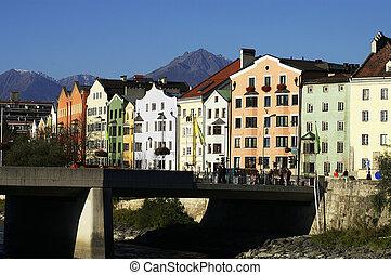 Innsbruck Old houses - Old houses in Innsbruck�s...