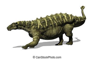 Talarurus Dinosaur - The Talarurus was an armoured dinosaur...