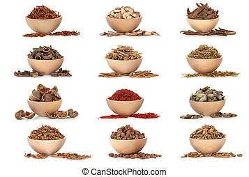 Traditional Chinese Medicine - Collection of traditional...