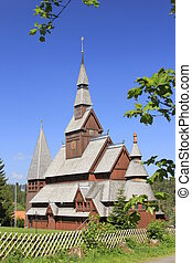 nordic wood church - the nordic wood church in...