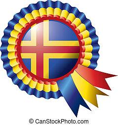 Aland rosette flag