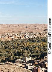 Tinerhir village at Morocco - Tinerhir village near Georges...