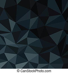 Dark Blue Abstract Diamond Pattern Background. Vector...