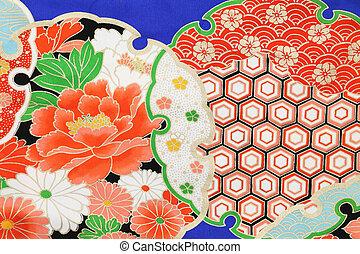 kimono, tela