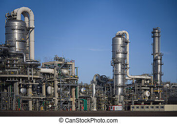 Refinery 12 - Refinery in Europoort, Rotterdam, Holland
