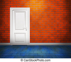 Door in the Brick Wall