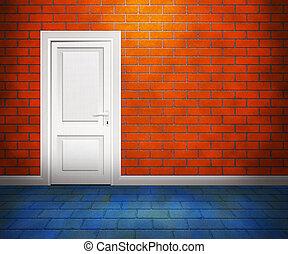 Door in the Brick Wall