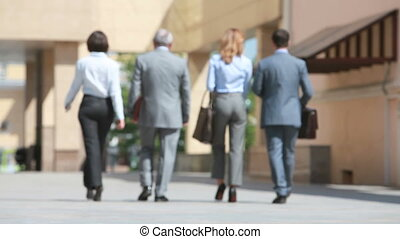 Together in business - Group of people dressed with business...
