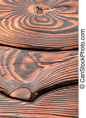 Old dark wooden board - The old wooden board painted dark...