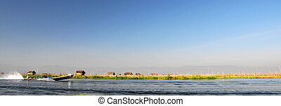 Lake Inle in Myanmar