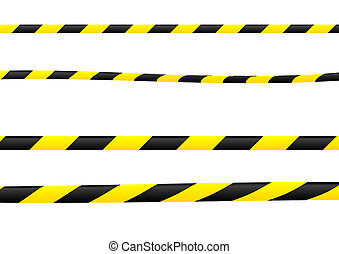 Construction ribbon - Several versions of construction...