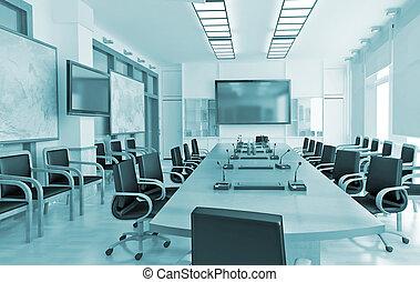 Interior, negócio