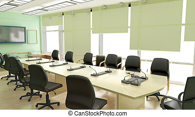 conference room - 3D interior