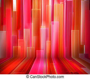 Red Striped Interior