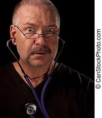 Cardiac Arrest - Man having Heart Attack