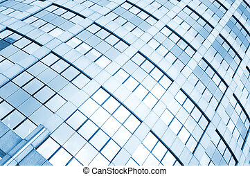 Glass windows - Diagonal background of glass windows