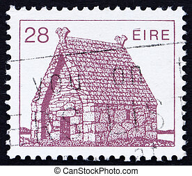 Postage stamp Ireland 1985 St Mac Daras Church, Ireland -...