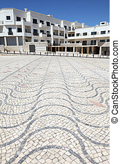 New buildings in the city of Lagos, Algarve Portugal