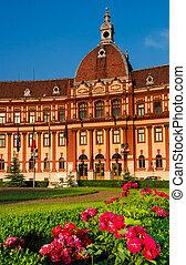Brasov administration in Romania, neobaroque architecture -...
