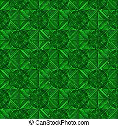 Emerald crystal. Seamless texture.