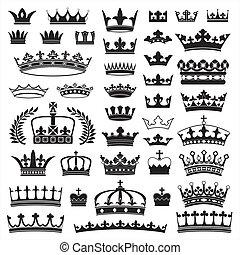 Coronas, Colección