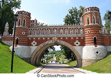 Bridge in the Tsaritsino, Moscow