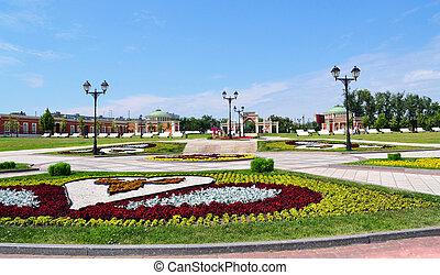 Tsaritsino Park in Moscow, Russia