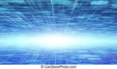camera flies between techno planes - camera flies between...
