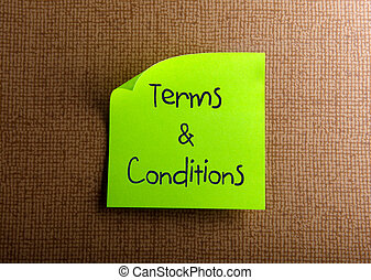 Terms and Conditions - Terms Conditions