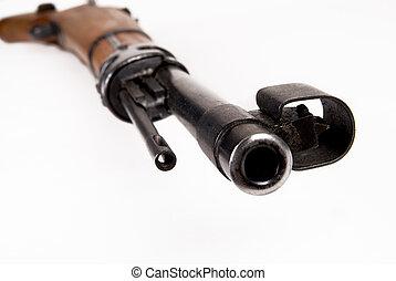 militar, barril,  rifle