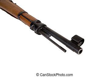 militar, rifle, barril