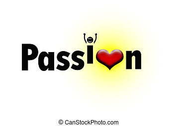 Passion with a heart and excited I - Passion with a heart...