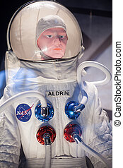 Astronaut suit - Photo of a dummy with astronaut suit
