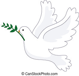 Dove Peace - vector illustration of Dove Peace