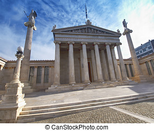 The national academy, Athens Greece - The national academy...