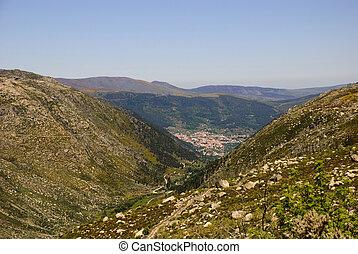 Serra da Estrela, Portugal - Serra da Estrela natural park,...
