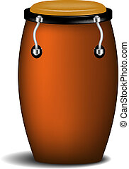 Conga (percussion music instrument) - Conga percussion music...
