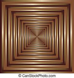Golden frame perspective