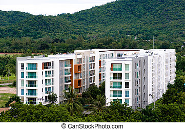 condominium in the forest in Thailand