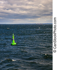 Buoy on the water