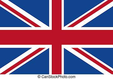 königreich, Fahne, vereint