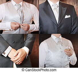 bien, vestido, hombre
