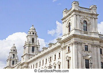 HM Treasury, Her Majesty's Treasury building in London