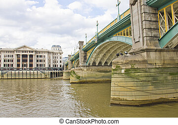Southwark Bridge, London, UK