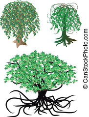 fantastic vector trees - fantastic nonexistent vector trees...