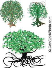 fantastic vector trees - fantastic nonexistent vector trees...