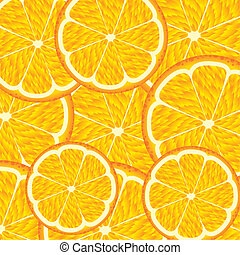 orange fruit background vector illustration