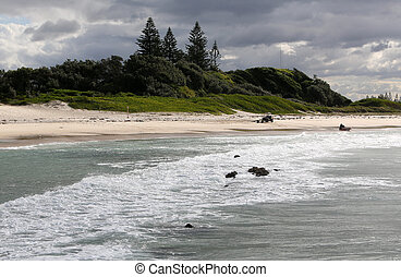Foster, New South Wales - Foster Beach in New South Wales,...