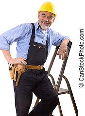 Repairman, lycklig