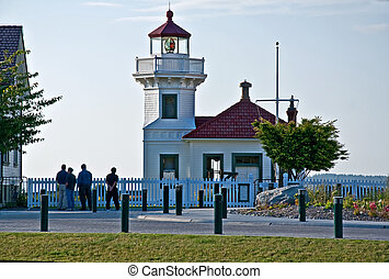 Mulkiteo Light House in Washington State - This is a...